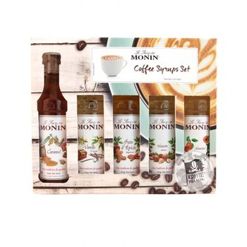 monin coffee sirop setje